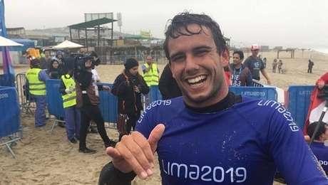 Vinnicius Martins ganhou a prata após arrancada nos últimos metros da competição
