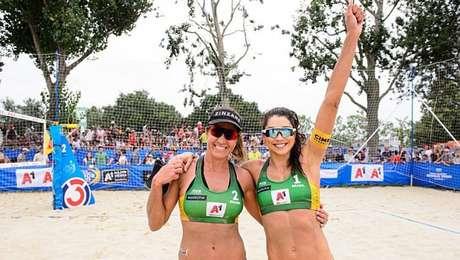 Carol/Maria Elisa estão na semifinal em Viena