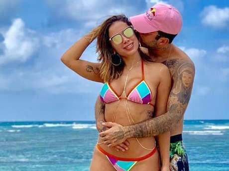 Anitta e Pedro Scooby assumiram namoro durante viagem do casal a Bali, na Indonésia