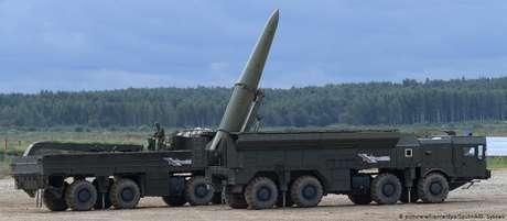 Míssil Iskander russo: de volta à Guerra Fria?