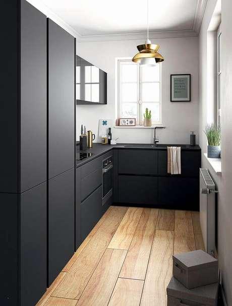 9. O forno elétrico embutir é perfeito para decoração de cozinhas modernas – Foto: Home Ideas