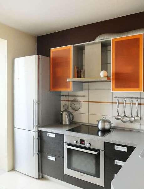 12. O forno elétrico embutir pode trazer mais praticidade para o seu dia a dia – Foto: Pinterest