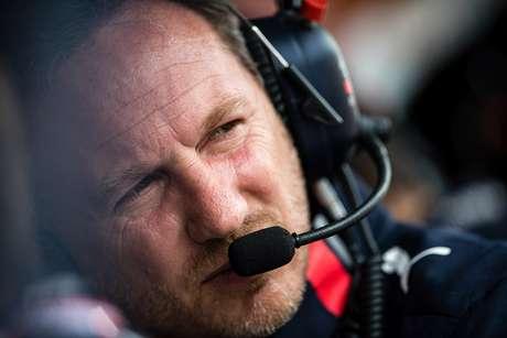 """Horner acredita que """"não teria sido sensato"""" um pit para Verstappen mais cedo"""