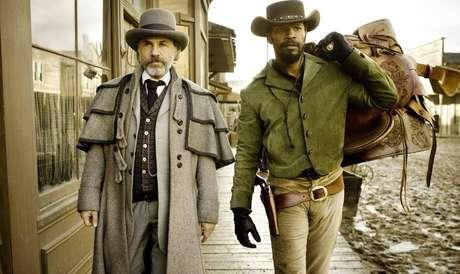 Em 'Django Livre', Jammjie Foxx, Christoph Waltz e Leonardo DiCaprio aparecem em interpretações magistrais. Waltz ganhou mais um Oscar de Melhor Ator Coadjuvante