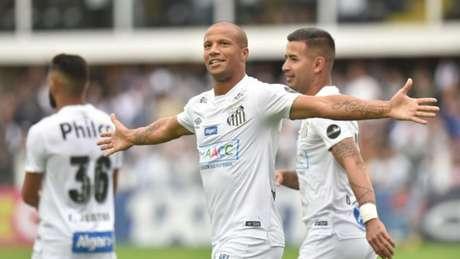 Sánchez vive bom momento e é o artilheiro do Santos na temporada, com 12 gols (Ivan Storti/Santos FC)