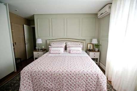 42. Diferente do que muitos pensam, a parede da casa não é prejudicada pelo ar condicionado split. Projeto de Codecorar