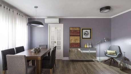 29. O ar condicionado split também evita a desidratação dos moradores. Projeto de MODI Arquitetura e Interiores