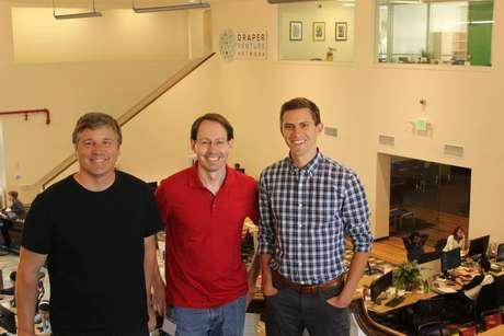 Fundada por Doug Ricket (centro), um ex-funcionário do Google Maps, PayJoy deve iniciar operações no Brasil