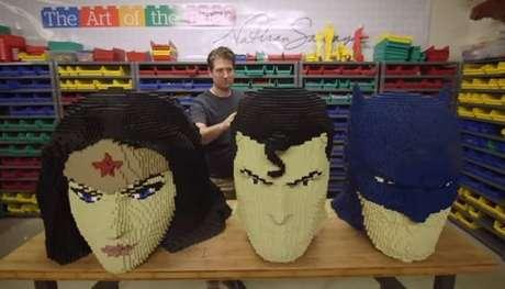 São Paulo receberá maior exposição do mundo de personagens da DC feitos de Lego.