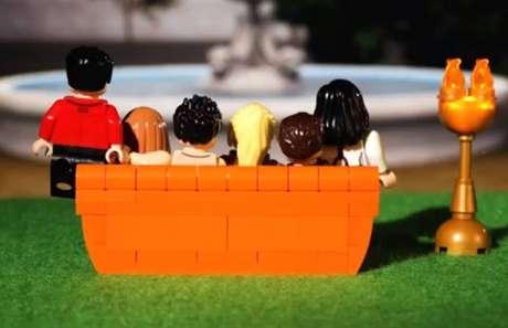 Coleção de Lego inspirada nos personagens de 'Friends'