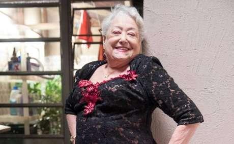 Suely Franco em 'A Dona do Pedaço'