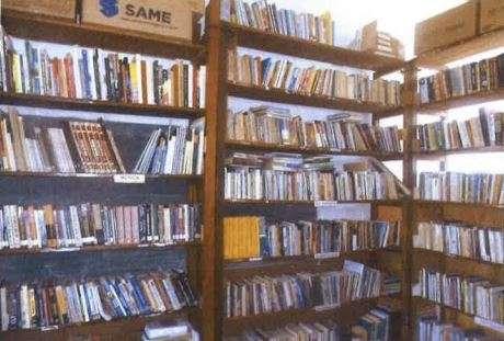 Um das bibliotecas da unidade