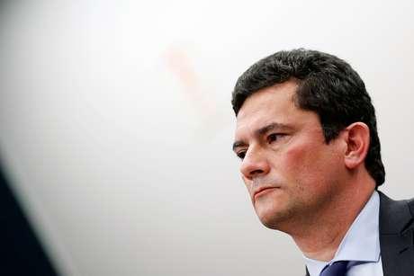 Ministro da Justiça, Sergio Moro, durante audiência no Congresso 02/07/2019 REUTERS/Adriano Machado