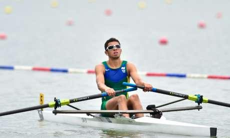 Uncas Tales é medalha de bronze com o parceiro Lucas Verthein. (Foto: Divulgação)