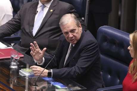 Tasso Jereissati (PSDB-CE) é o relator da reforma da Previdência no Senado