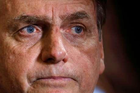 Presidente Jair Bolsonaro em cerimônia no Palácio do Planalto 30/07/2019 REUTERS/Adriano Machado