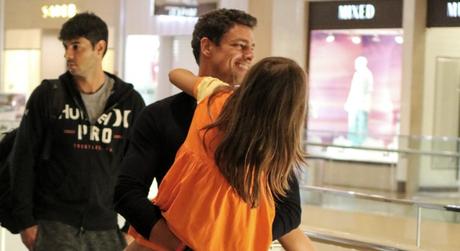 Cauã Reymond e a filha Sofia (Fotos: Fabio Moreno/AgNews)