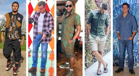 Pais estilosos (Fotos: AgNews - TV Globo/Divulgação - Instagram/Reprodução)