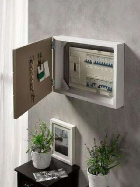 33. Para fazer uma boa instalação elétrica é preciso conhecimento e experiência. Foto: Room Decor Ideas