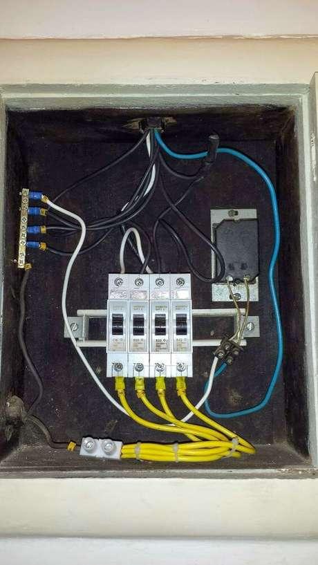 35. Bons materiais devem ser utilizados em uma instalação elétrica. Foto: Dicas do Gilson Eletricista