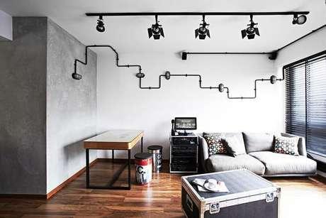 6.Além da instalação elétrica, oeletricista pode te ajudar também na parte decorativa. Foto: Casa Cláudia