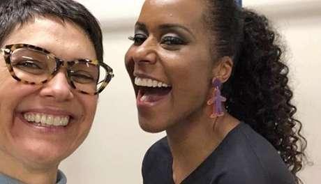 Sandra Annenberg e Maju Coutinho: ambas colaboraram para o jornalismo da Globo se tornar mais informal