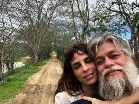 Fabio Assunção e Maria Ribeiro em Lajedo do Pai Mateus, na Paraíba.