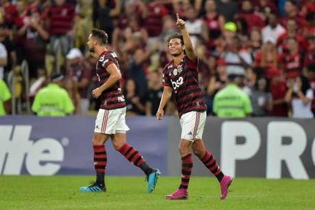 Willian Arão abriu o placar no Maracanã (Foto: Thiago Ribeiro)