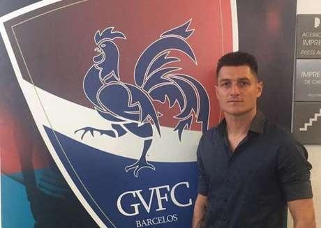 Denis foi contratado recentemente pelo Gil Vicente e disputa a primeira divisão em Portugal (Divulgação)