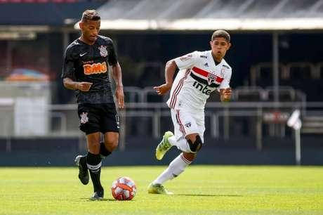 Corinthians foi superado pelo São Paulo no sub-20 (Foto:Rodrigo Gazzanel/Agência Corinthians)