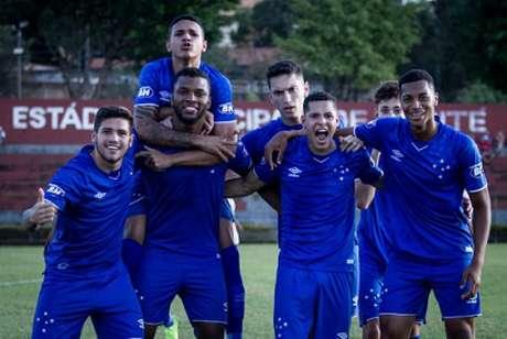 O sub-20 da Raposa jogou com uma equipe alternativa, mas ainda assim, conseguiu sair vencedor sobre o timed e Teofilo Otoni-(Gustavo Aleixo/Cruzeiro)
