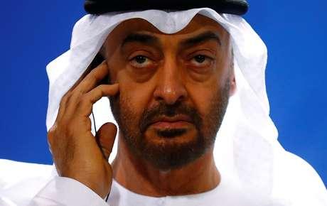 Príncipe herdeiro de Abu Dhabi, Mohammed bin Zayed al Nahyan 12/06/2019 REUTERS/Hannibal Hanschke