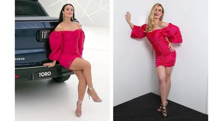 Paolla Oliveira como Vivi Guedes e Fernanda Keulla (Fotos: Reprodução/Instagram)