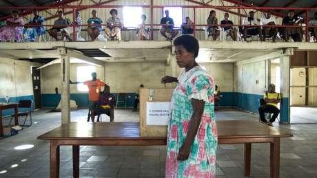 No país, os homens geralmente dizem às mulheres da família em quem elas deveriam votar