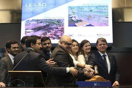 Segundo o ministroTarcísio Freitas, os leilões mostraram que medidas do governo 'trouxeram confiança ao mercado'.