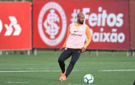Bruno Silva já treinou com o elenco do Internacional