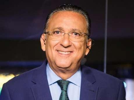 Galvão criticou atitude de Felipe Melo em jogo contra o# Bahia (Foto: Reprodução)