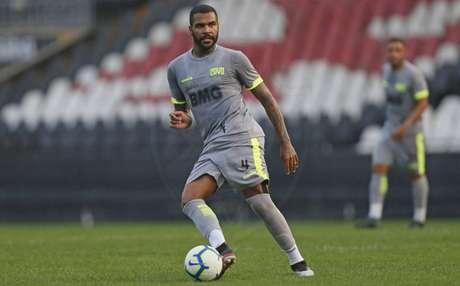 Breno, durante jogo-treino disputado pelo Vasco nas últimas semanas (Foto: Rafael Ribeiro/Vasco)-