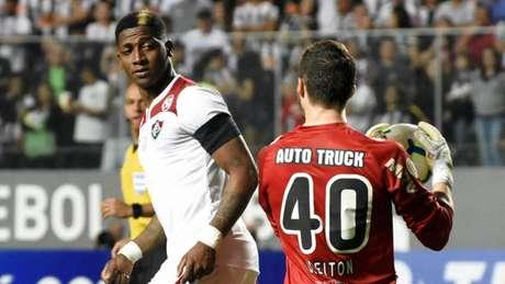 Yony em ação contra o Atlético-MG, partida em que passou em branco (Foto: Mailson Santana/Fluminense)