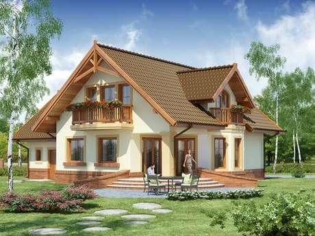 7. Aposte nos telhados coloniais para ter uma casa segura e linda – Por: Pinterest
