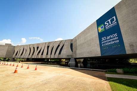 A fachada do STJ, em Brasília