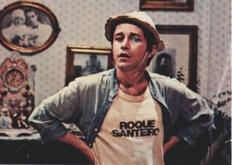 O ator como Jiló em Roque Santeiro (1985-1986): facilidade em fazer o público rir