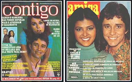 Na década de 1970, Barrosinho era considerado galã e posou para várias capas de revistas
