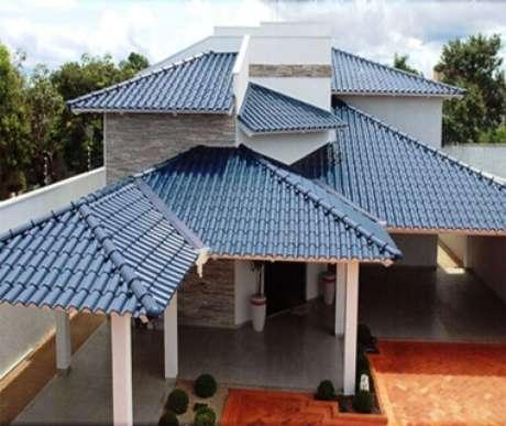 3. Aposte em diferentes cores de telhas coloniais para sua casa ser moderna e personalizada – Por: Elion