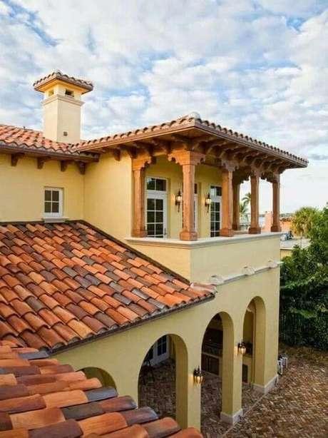 51. A telha colonial pode ser usada na casa do campo – Por: Ensidecor