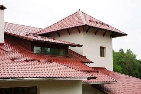 52. Use a telha colonial para sua casa ser ainda mais personalizada – Por: Pinterest
