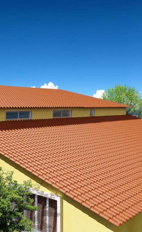 2. A telha colonial pode ser uma forma de economizar no projeto da sua casa – Por: Afort