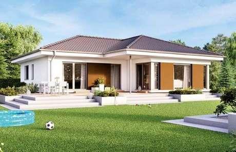 67. Use a telha colonial para sua casa ser ainda mais bonita – Por: Pinterest
