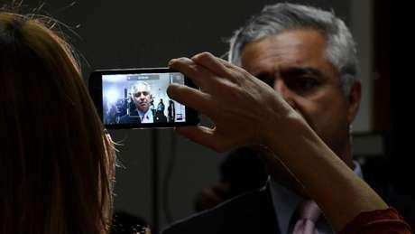 'Espero que Deus o guarde e esqueça onde', disse Major Olímpio (foto) após expulsão de Frota do PSL