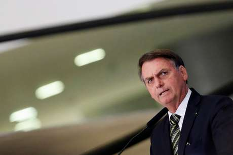 Presidente Jair Bolsonaro no Palácio do Planalto 30/07/2019 REUTERS/Adriano Machado